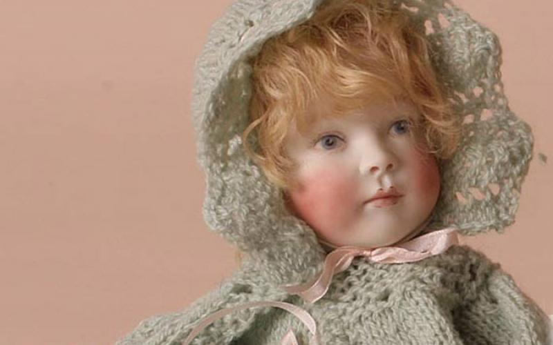 Bonnie Babies Knitting Patterns : Bonnie Baby - in lacy knit Roche Dolls