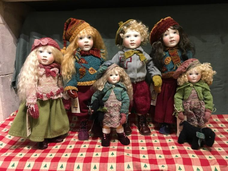 Winter Special dolls 2017....all dolls have now sold out.