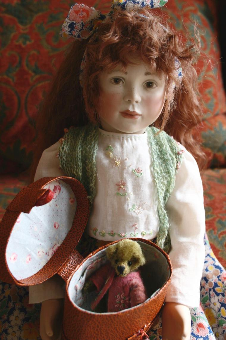 """Beautiful Holly 18"""" wooden body. Holly has now sold."""
