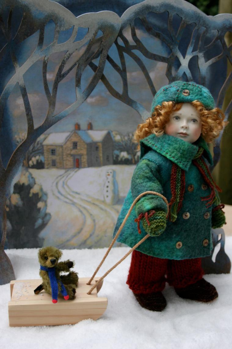 Christmas 2011 Special Edition Gertie 'Winter Fun'