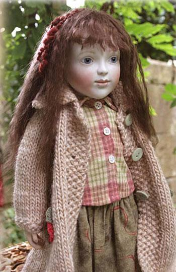 Skirt, Blouse and Coat....NB. will not fit Mira, but fits other dolls of that size.